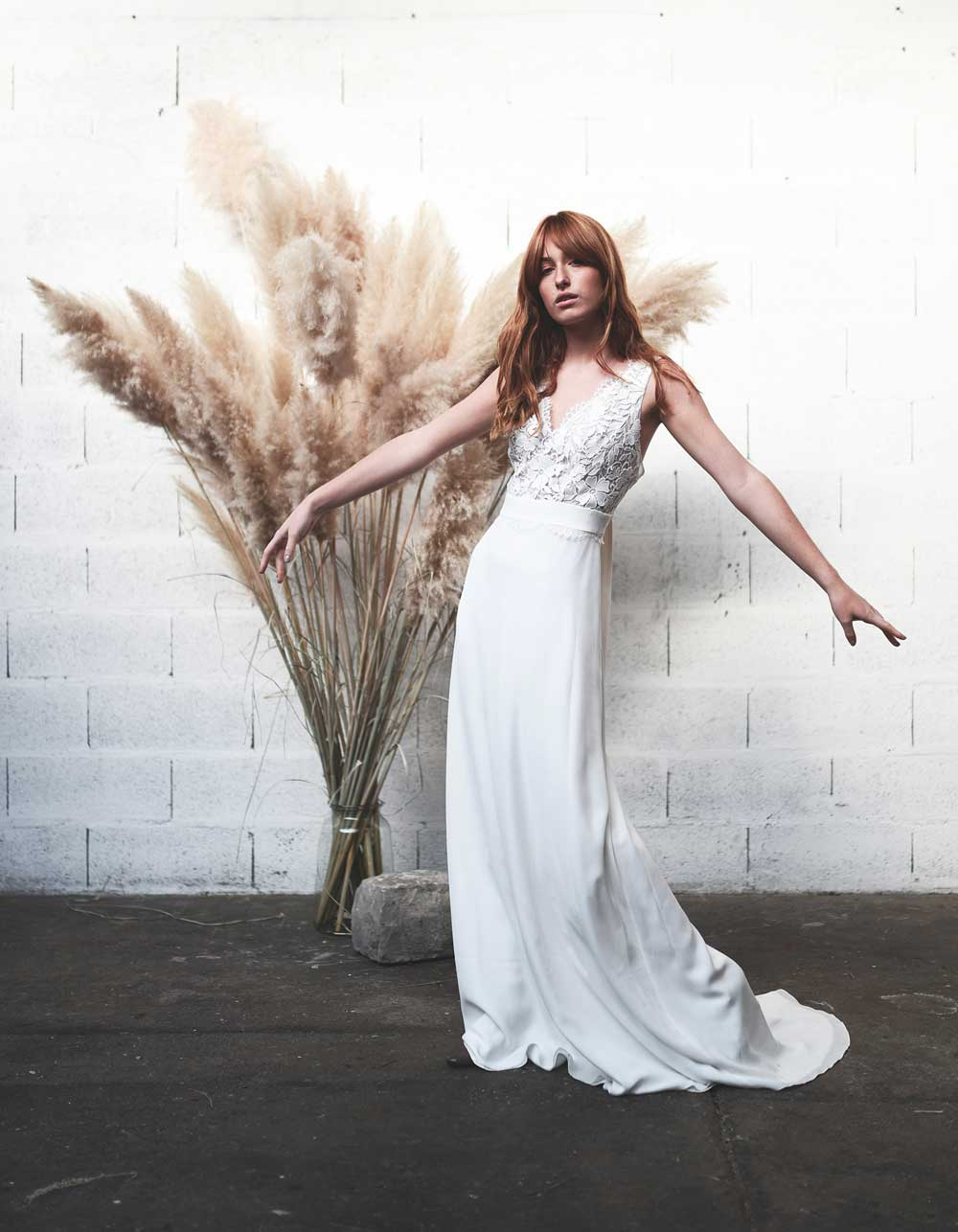 Stéphanie Wolff - Gloria - Robe de mariée fluide