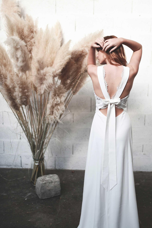 Stéphanie Wolff - Gloria - Robe de mariée dos nu