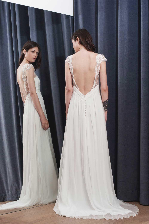 Stéphanie Wolff - Gloria - Robe de mariée mousseline de soie