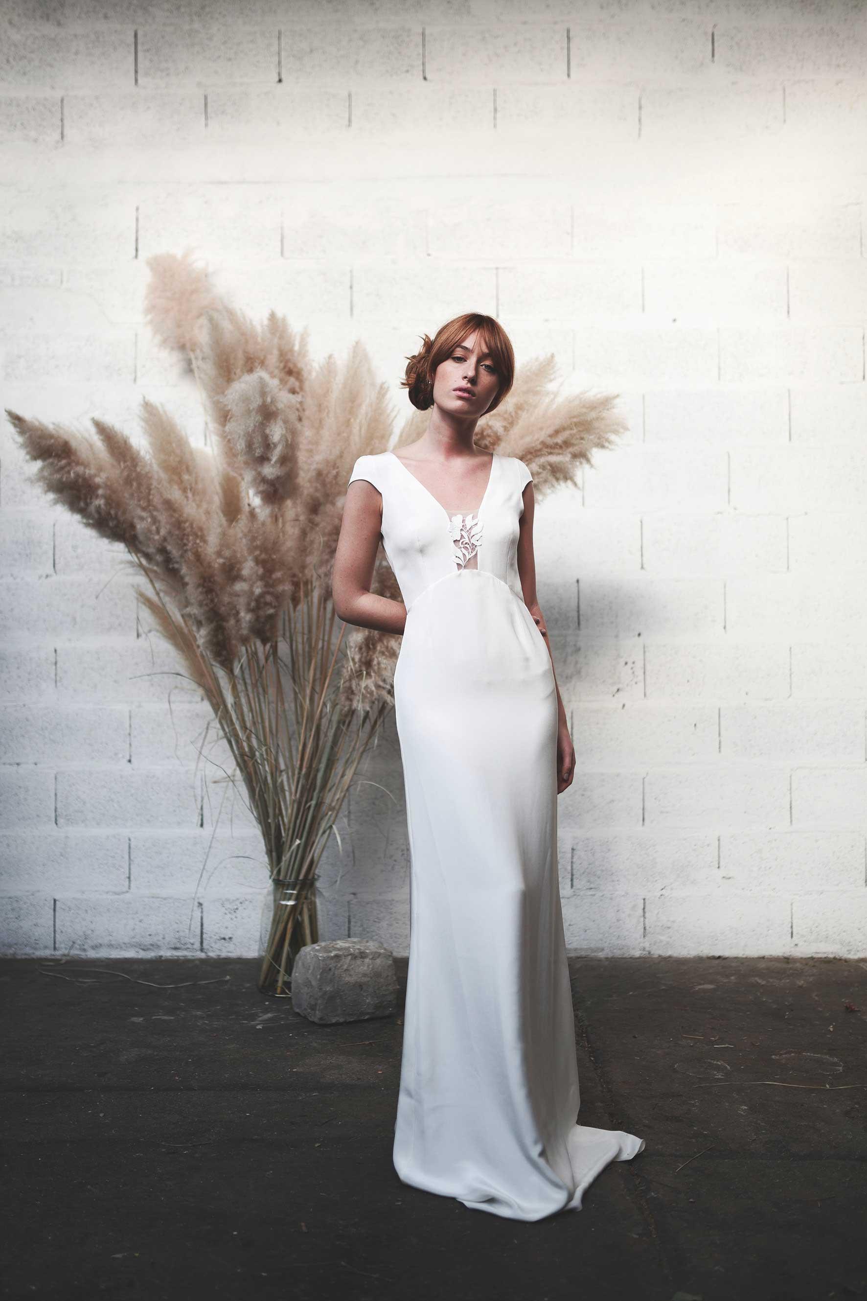 Stéphanie Wolff - Wonderwall - Robe de mariée épurée