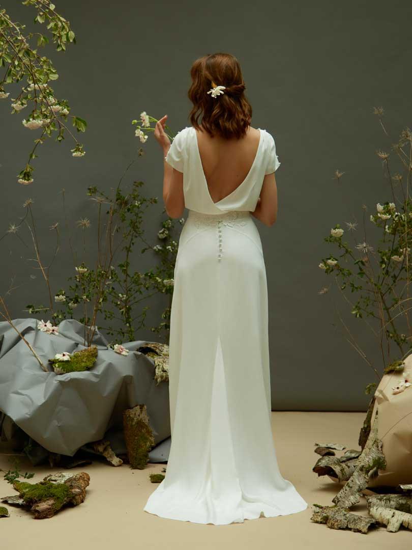 Céline de Monicault - Modèle 37 - Robe de mariée épurée