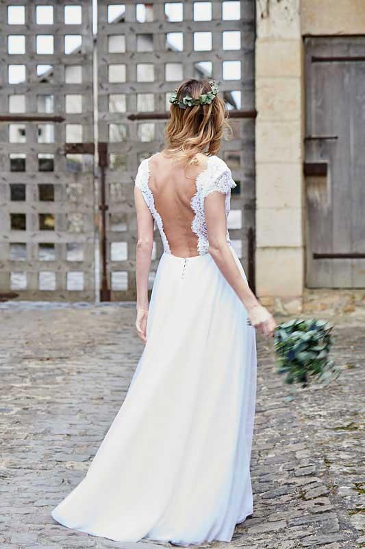 Robe Eléonore - Robes de Mariée à Bordeaux