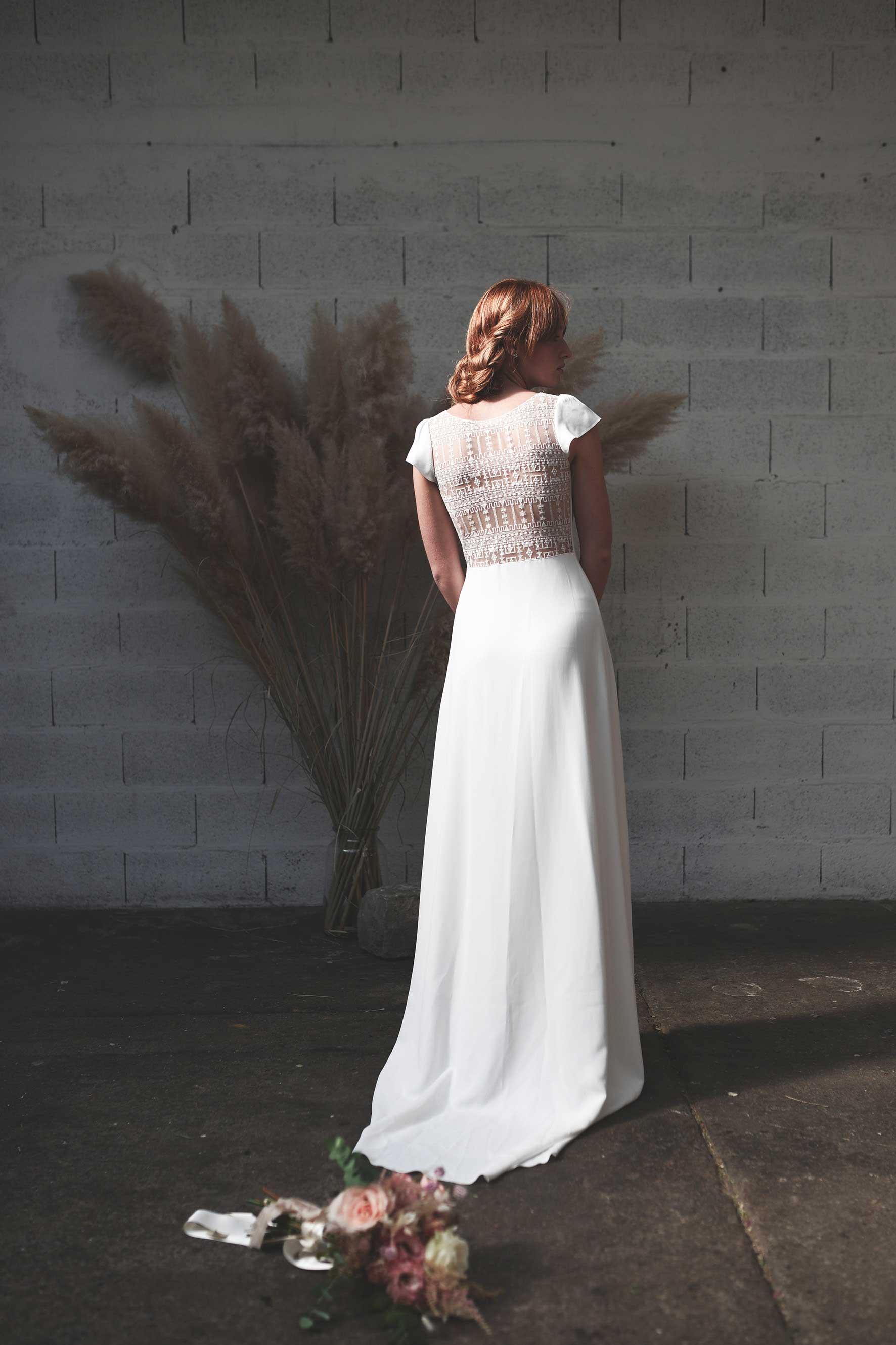 Stéphanie Wolff - La Javanaise - Robe de mariée dos en dentelle