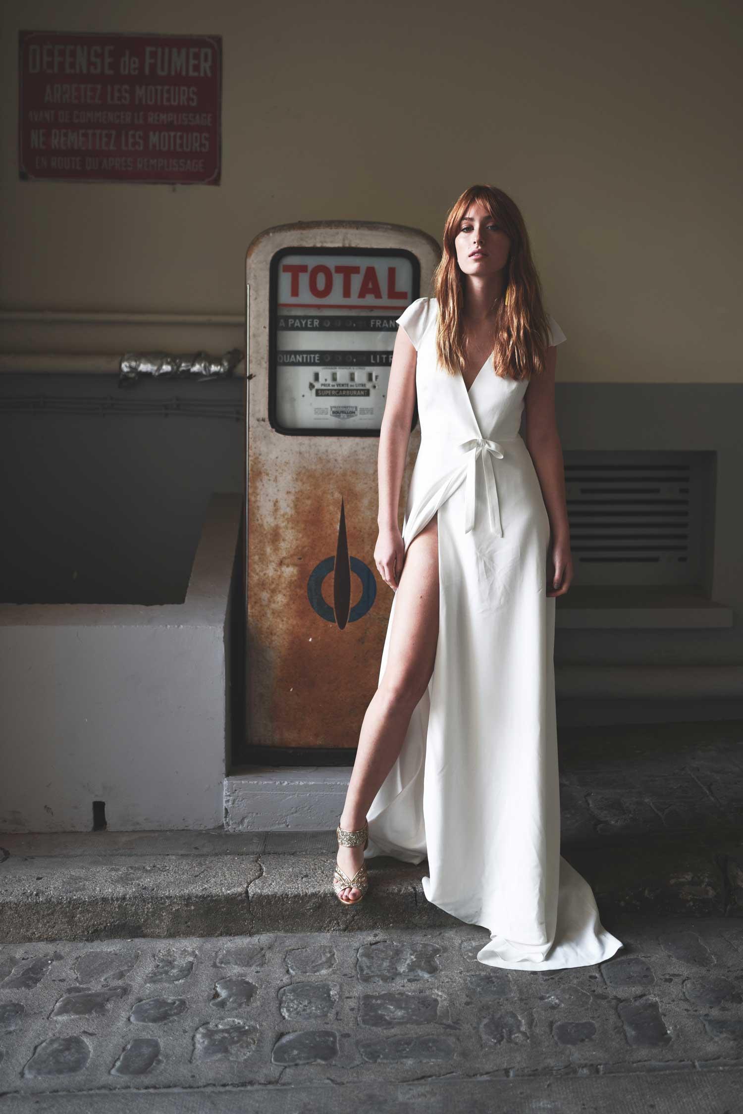 Stéphanie Wolff - La Javanaise - Robe de mariée portefeuille