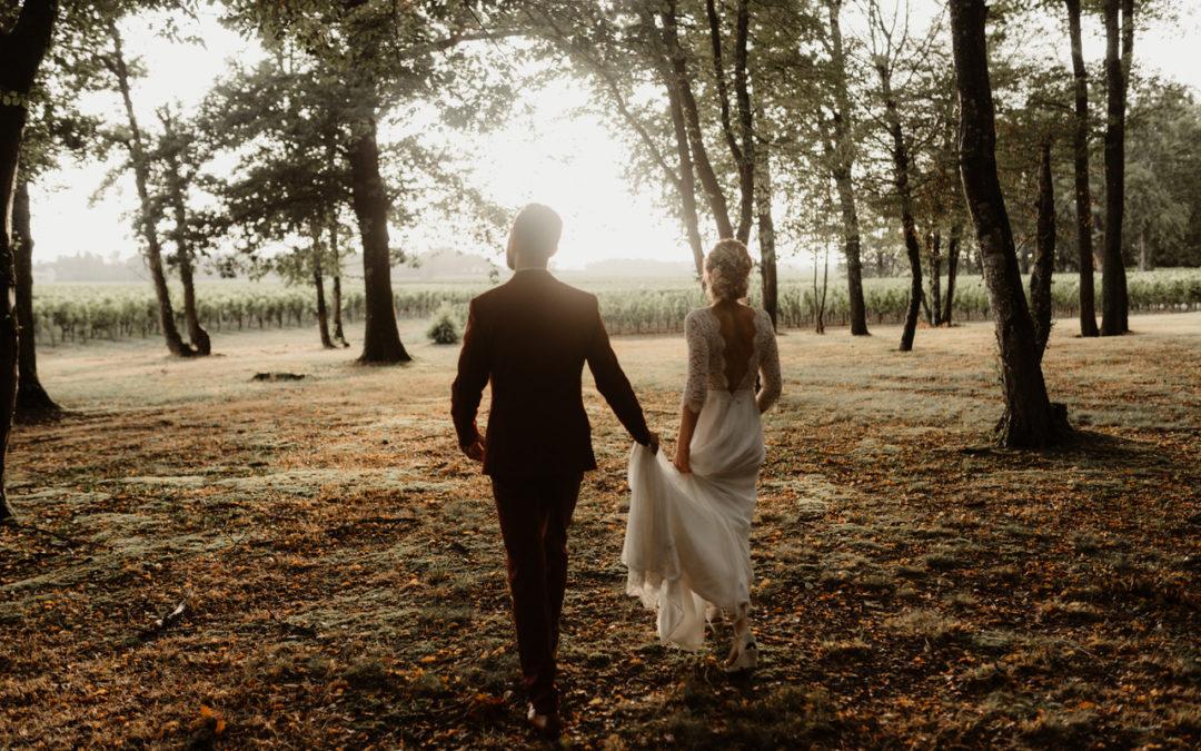 Mariage Bohème et nature en Gironde 2