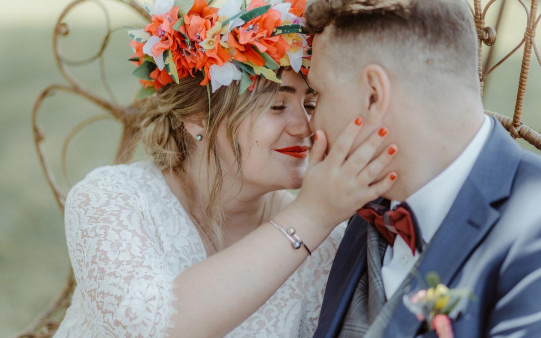 Mariage Champêtre Bordeaux Les mariés
